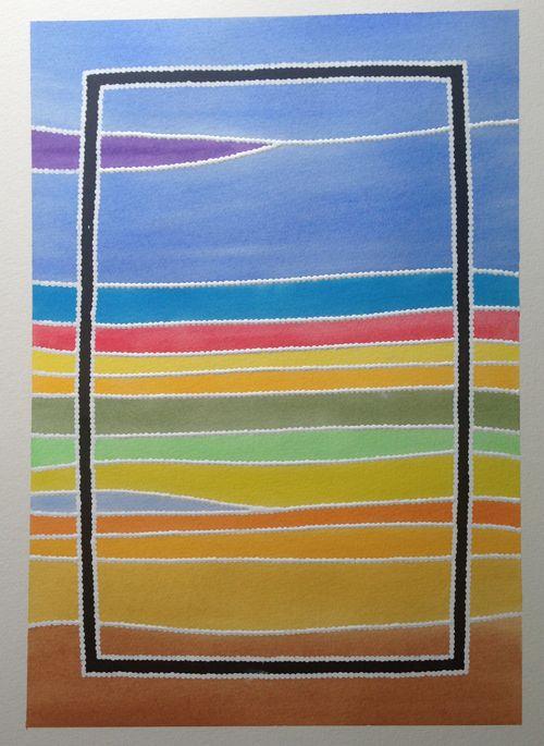 Art by Ernie Dingo - Untitled