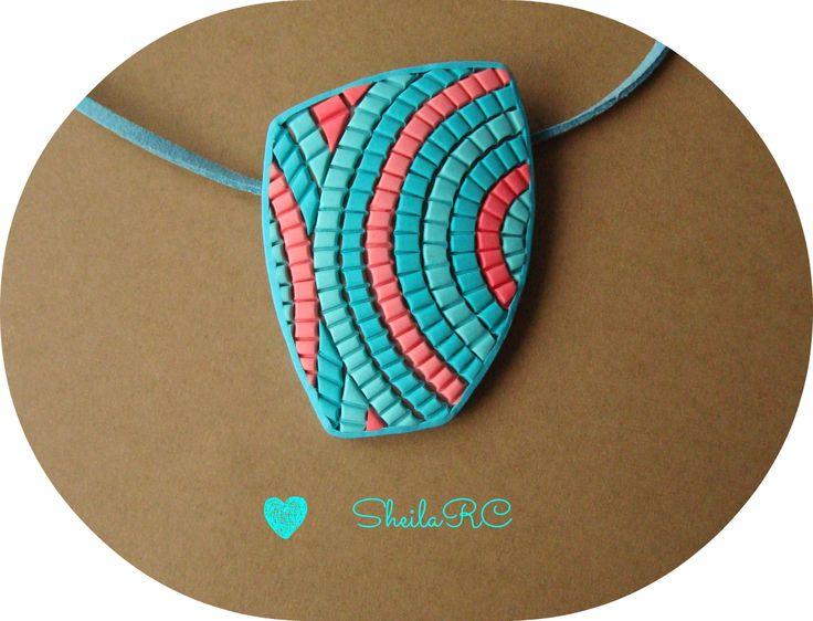 Chily Fimera: Colgante Azul