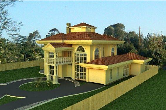 best designed houses in kenya | Residential house, House ...