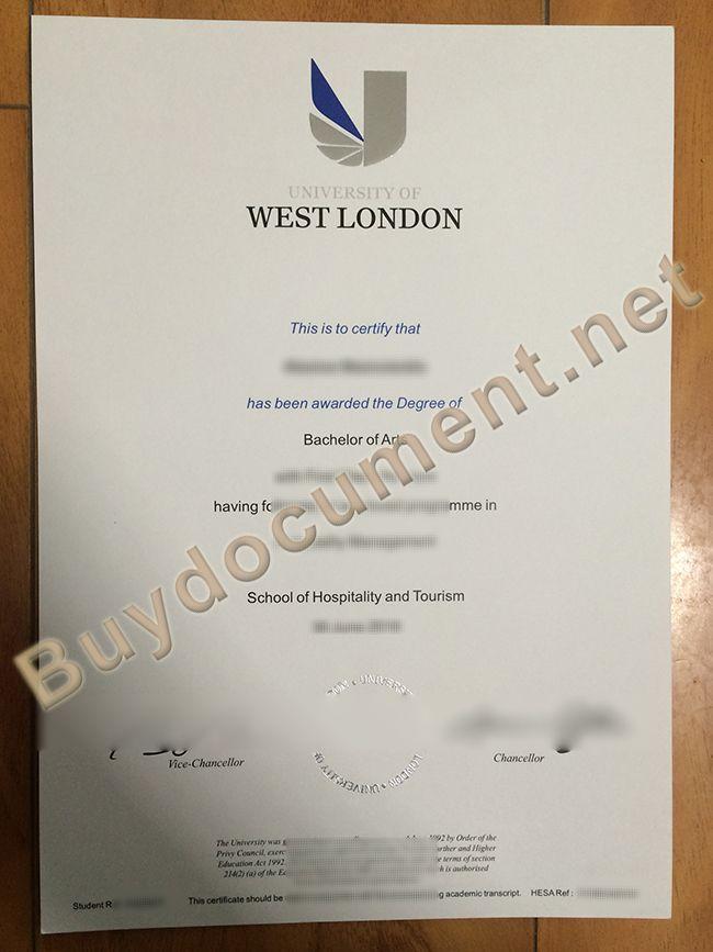 University Of West London Diploma Diploma Bachelor Of Arts West University