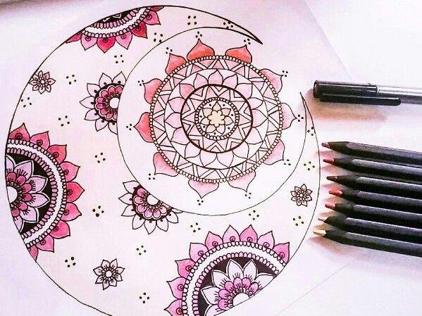 #pink makes everything better. #doodle done!  #hendoodlesbyfarah