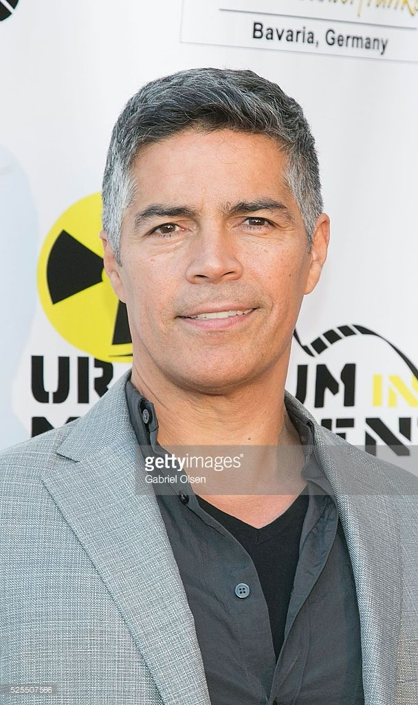 Esai Morales arrives for the Atomic Age Cinema Fest - 'The Man Who Saved The World' Premiere at Raleigh Studios on April 27, 2016 in Los Angeles, California.