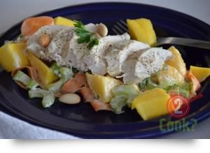 Chicken & Mango Salad with Thyme & Oregano