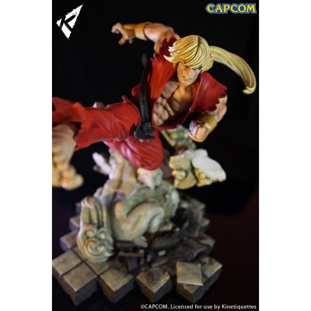 Street Fighter Battle of the Brothers 1/6 Scale Diorama: Ken Masters