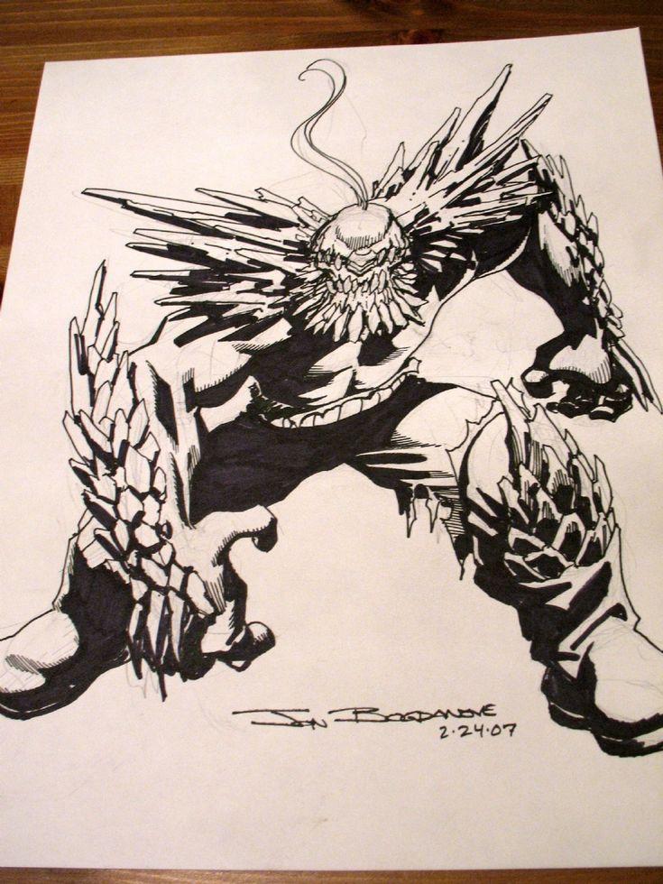 Bogdanove - Doomsday Comic Art