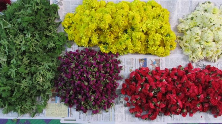 Flowers for pookkaLam