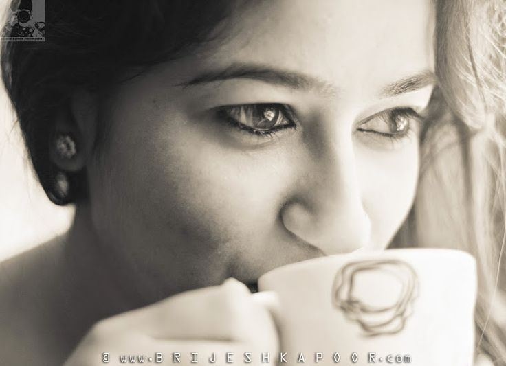 EARLY MORNING COFFEE DRINKING INDIAN BOHO CHIC PICTURE BY BRIJESH KAPOOR