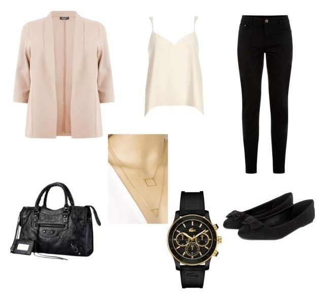 """""""one of my favourite outfits"""" by traceyposhbird on Polyvore featuring River Island and Lacoste"""