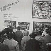 1937 Munich exhibition of Degenerate Art excerpt from holocaust museum