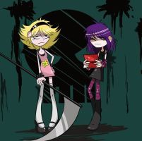 Evil Girls by Luzleimoon