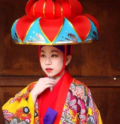 Costume in JapanCostumes Makeup Wigs Hats, Okinawa Japan, Colors, Japan Headdress, Eastern Culture, Arty People, People Culture, Wonder Japan, Asian Influence