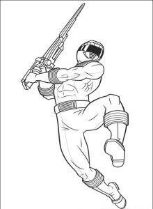 Imagens para pintar dos Power Rangers - 59