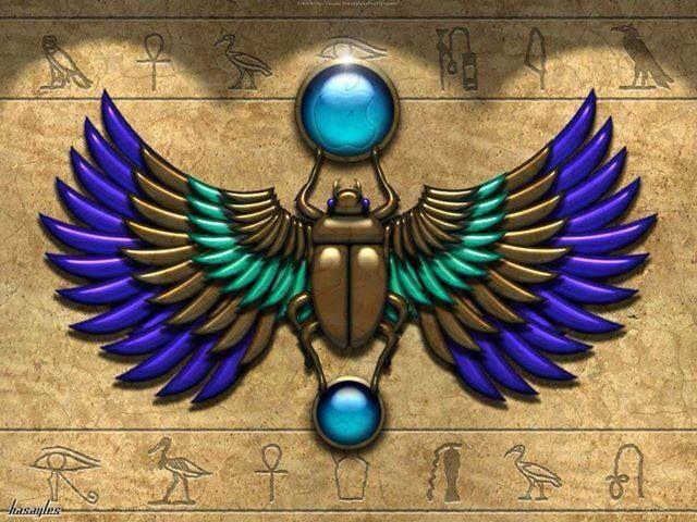 Beautiful Egyptian Art <3