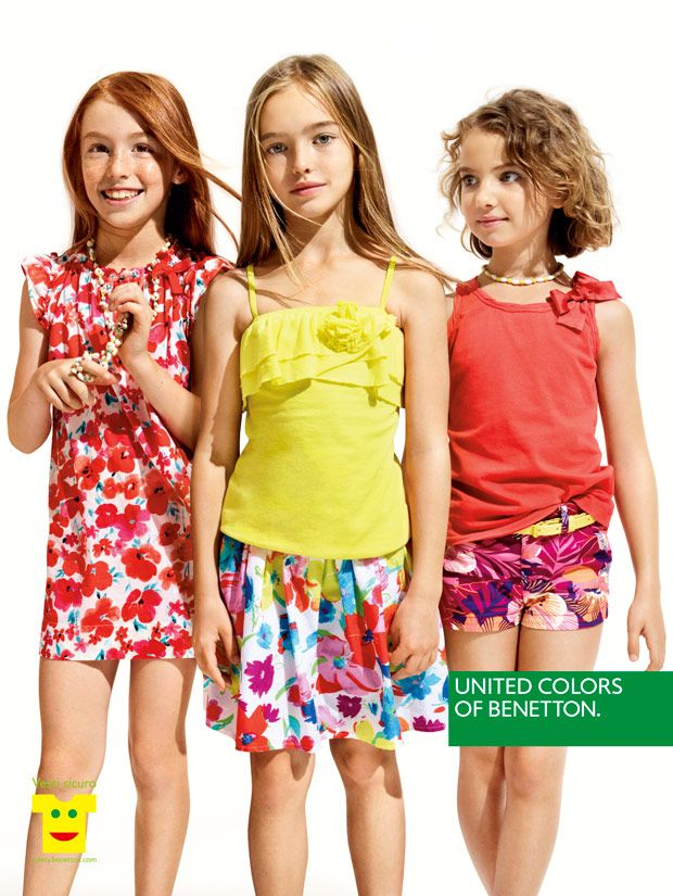 United Colors of Benettons Kids Advertising campaign Summer 2013