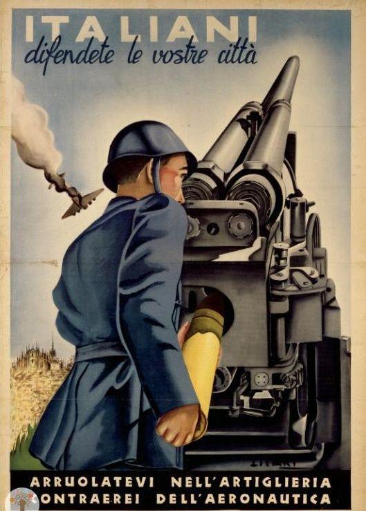 Propaganda italiana della Seconda guerra mondiale.