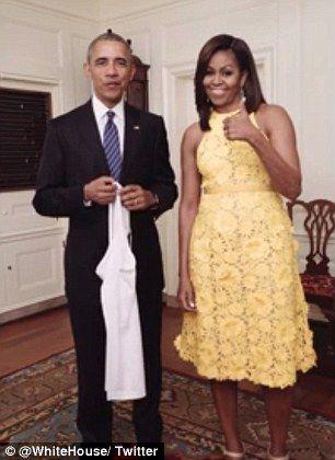 Barack & Michelle Obama urge on Team USA ahead of Rio opening ceremony
