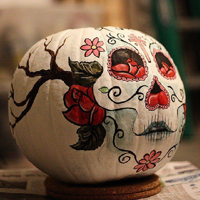 25 ways to decorate pumpkins without carving if youre sick of buying - Halloween Pumpkin Designs Without Carving
