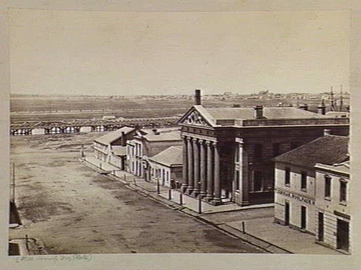 Melbourne, Victoria - Australia 1850s