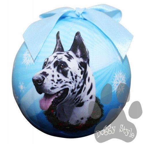 Great Dane Harlequin Shatterproof Dog Breed Christmas Ornament http://doggystylegifts.com/products/great-dane-harlequin-shatterproof-dog-breed-christmas-ornament