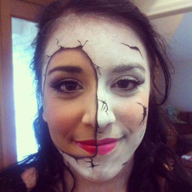 porcelain doll makeup and hair