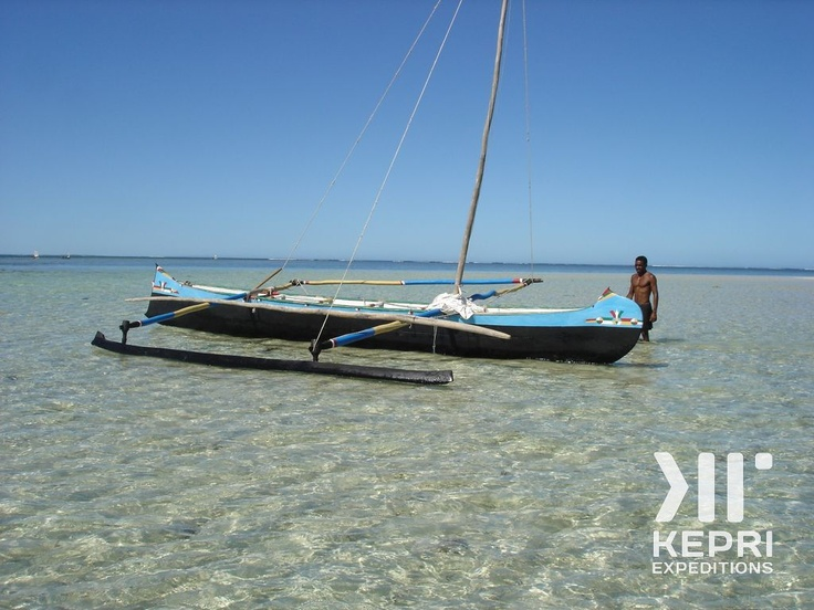 Kepri Expedition to Madagascar 2007. On an excursion near Anakao, in the southernmost tip of the island...
