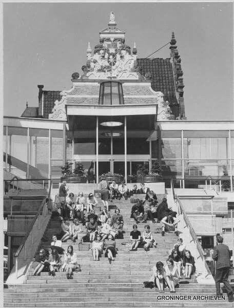 Gemeentehuis Groningen  1956