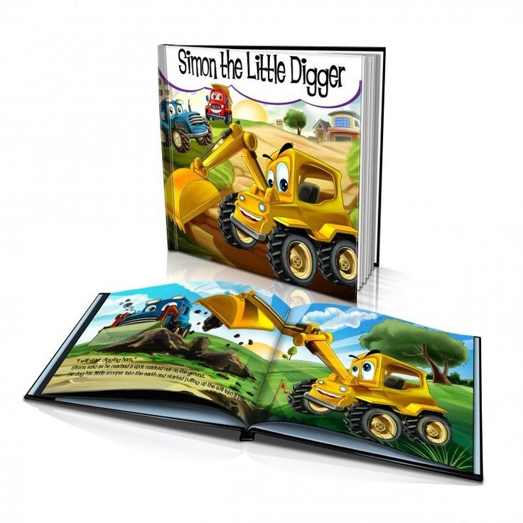 """Personalized Story Book: """"The Little Digger"""""""