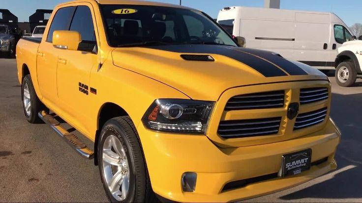 2016 Dodge Ram 1500 4x4 Crew Cab Sport Crewshort 5'7 Box