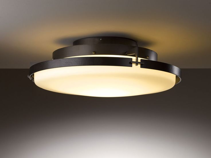 hubbardton forge 126747d metra 243 wide led ceiling light fixture hub 126747d ceiling lighting fixtures home office browse