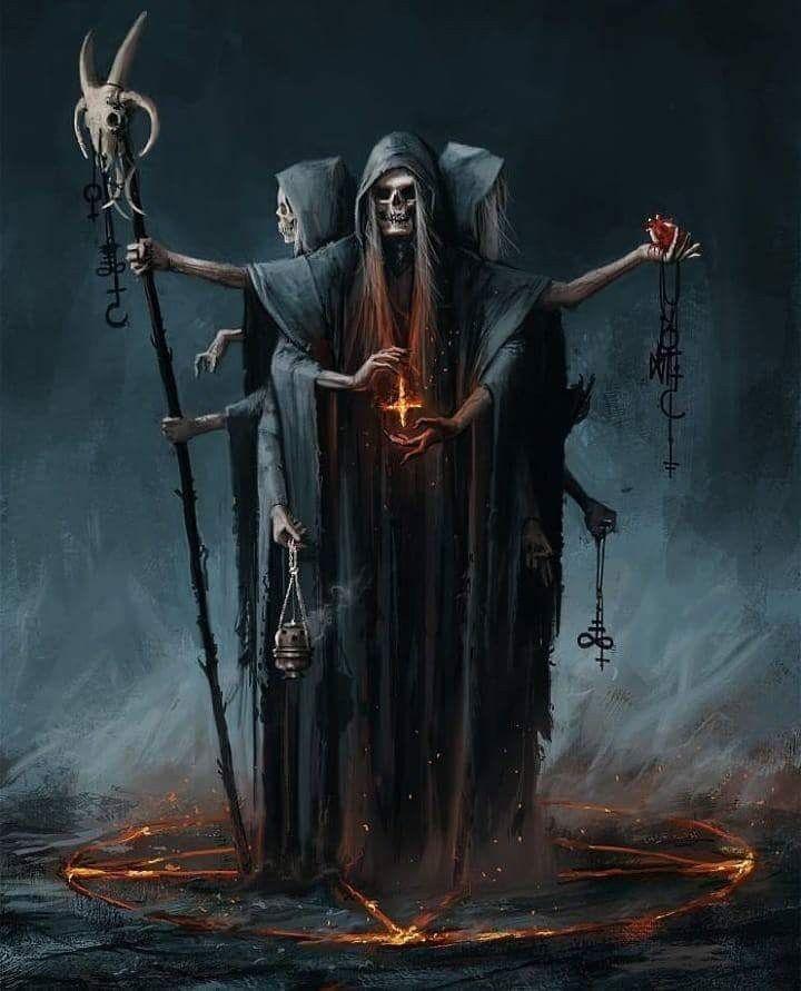 Tod oder manchmal der in der Kunst dargestellte Teufel … es gibt nichts …   – Witzig