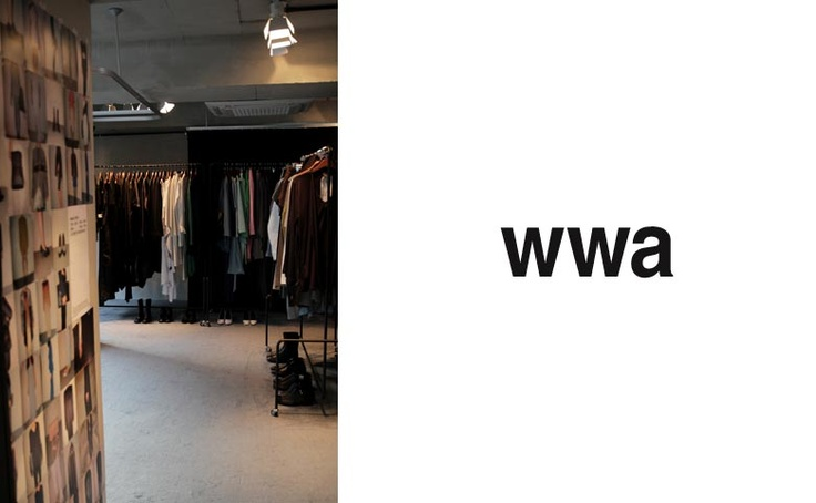 [Shopping in Korea] wwa in Cheongdam  wwa is fashion designer brand based in Bangkok, Thailand.  wwa is no ordinary fashion designer brand.  It is the only shop outside Thailand, only this shop and the one in Bangkok exists.  The unique multi-functional style of clothes for men and women comes to life when you wear it.  wwa clothes is fun and you'll feel 'freedom' when wearing it!  Address: 3F Hyeonyeon Bldg. 79-5 Cheongdam-dong, Gangnam-gu, Seoul.  Phone : +82-2-515-1199.