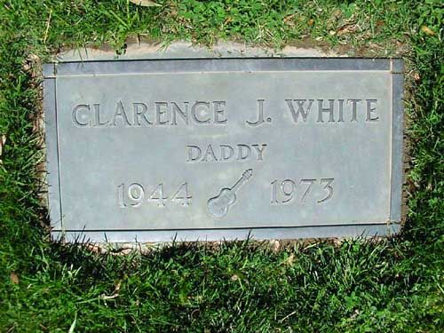 Clarence J. White - American bluegrass and country guitarist and singer. He is best known as a member of the bluegrass ensemble the Kentucky Colonels and the rock band the Byrds, as well as for being a pioneer of the musical genre of country rock during the late 1960's.