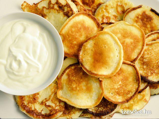 Joghurtos minipalacsinta (oladuski)