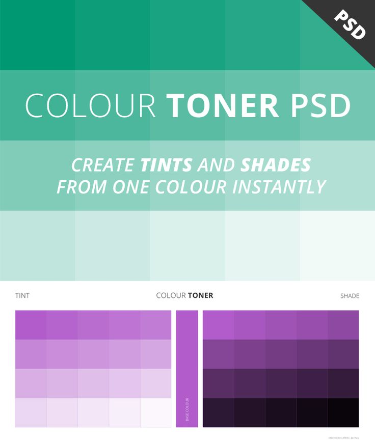 Free Colour Toner PSD #resources #photoshop