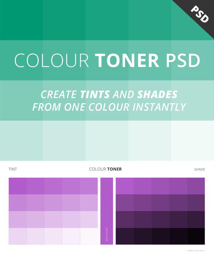 Free Colour Toner PSD #resources#photoshop