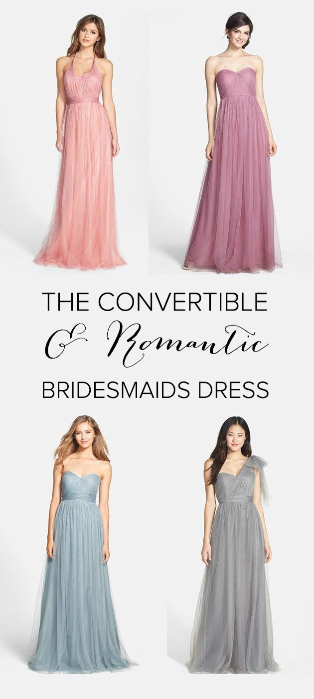 Romantic Bridesmaids Dress Style From Nordstrom