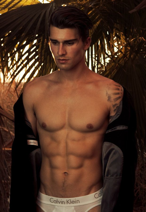 """gonevirile:  """"Luke Armitage in 'Mirage' by Theyaoh for Male Model Scene  """""""