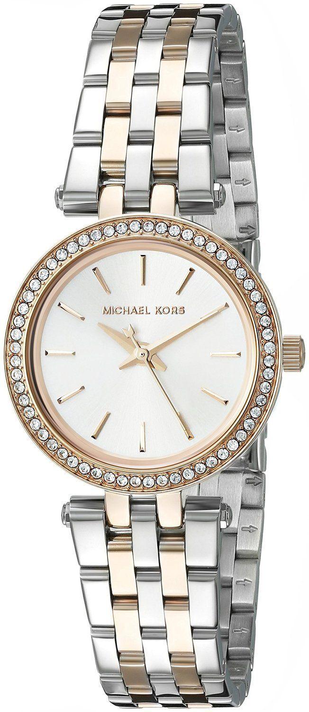 63488198e2e2  Michael  Kors  Darci Silver Dial MK3298 Womens Watch