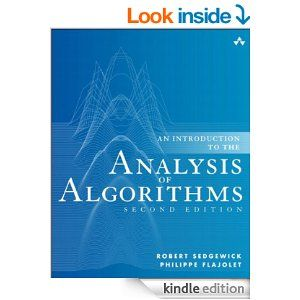 Amazon.com: An Introduction to the Analysis of Algorithms (2nd Edition) eBook: Robert Sedgewick, Philippe Flajolet: Kindle Store