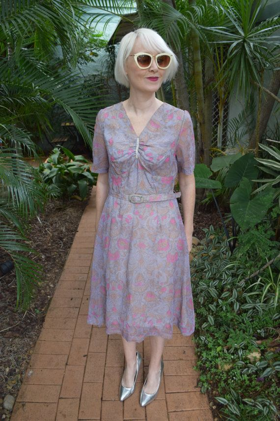 Japanese vintage sixties dress by GingerPopVintage on Etsy
