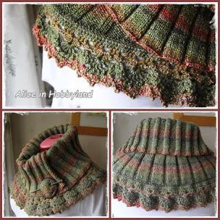 Gebreide col sjaal