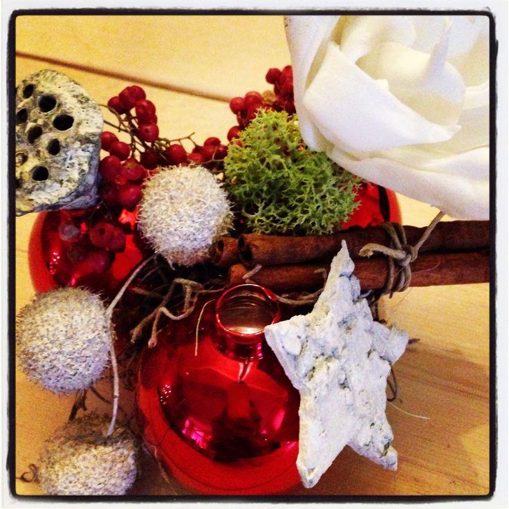 Mini kerststukje!