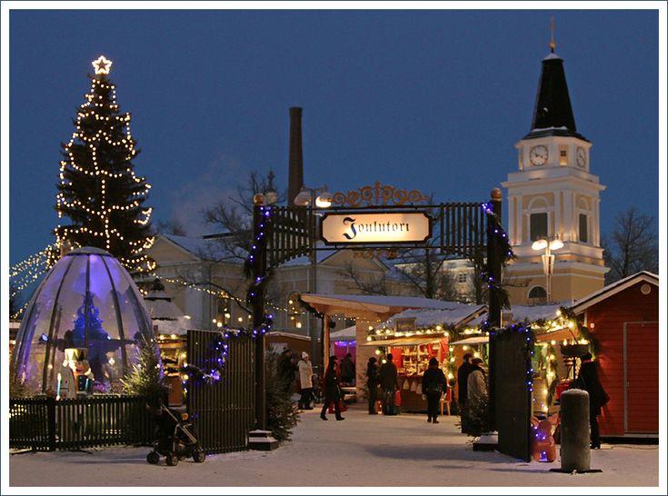 Tampere Christmas Market - Tampere, Western Finland