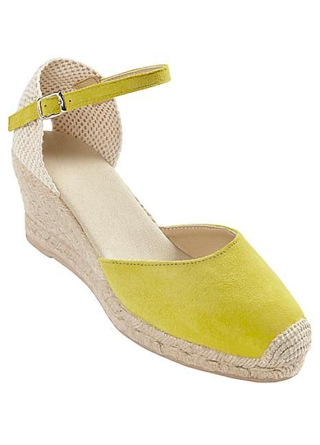 Suede Wedge Espadrilles  #Kaleidoscope #holiday #jetsetting