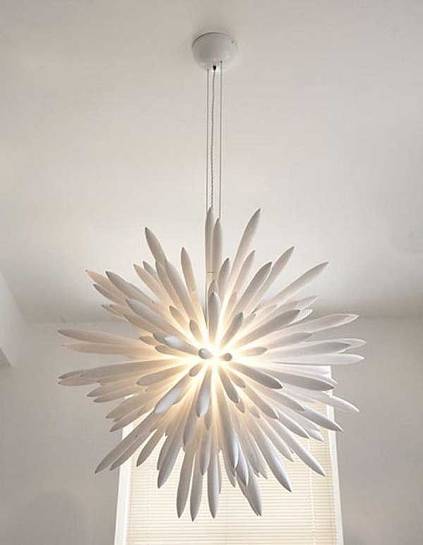 We could figure out how to make this! Ultra Modern Chandelier Design Ideas