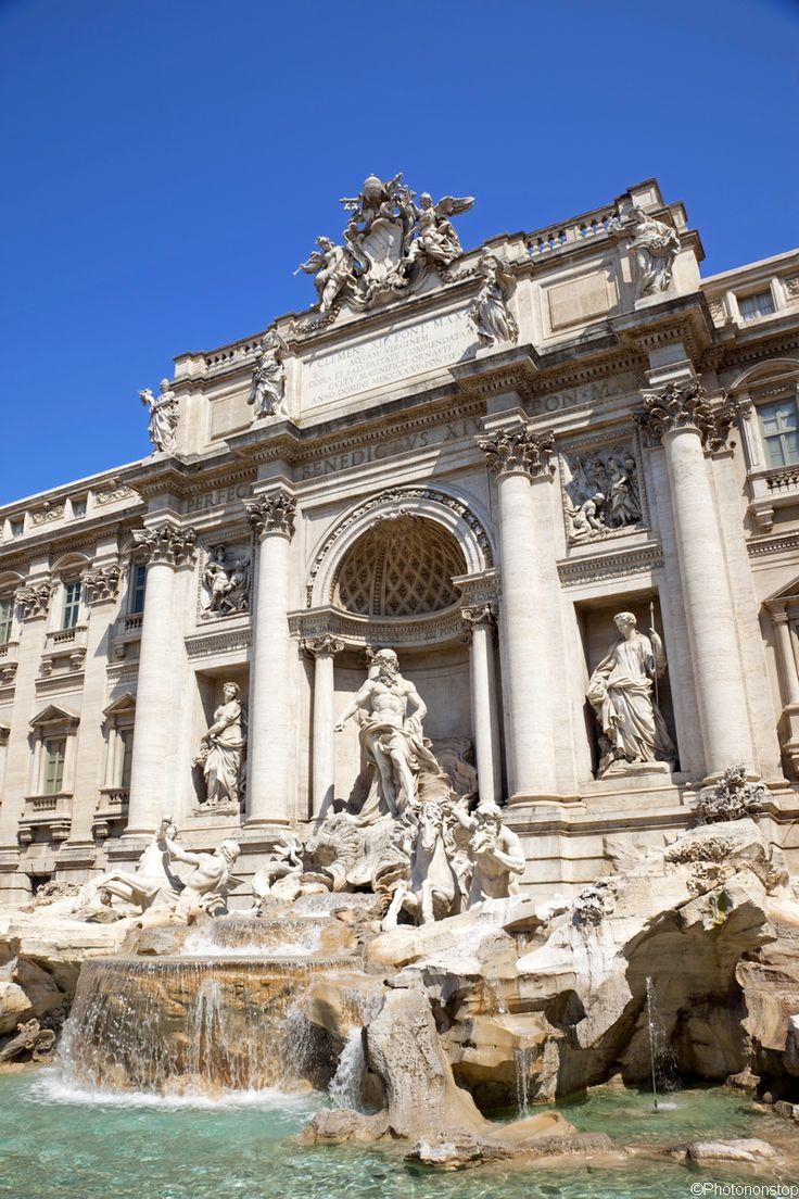 Echappée romantique à Rome : la fontaine de Trevi, Italie (Trevi Fountain, Rome, Italy)