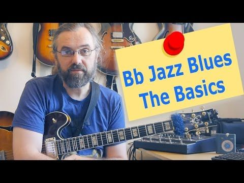 F Jazz Blues Comping - Jazz Chords and Concepts - Guitar Lesson - YouTube