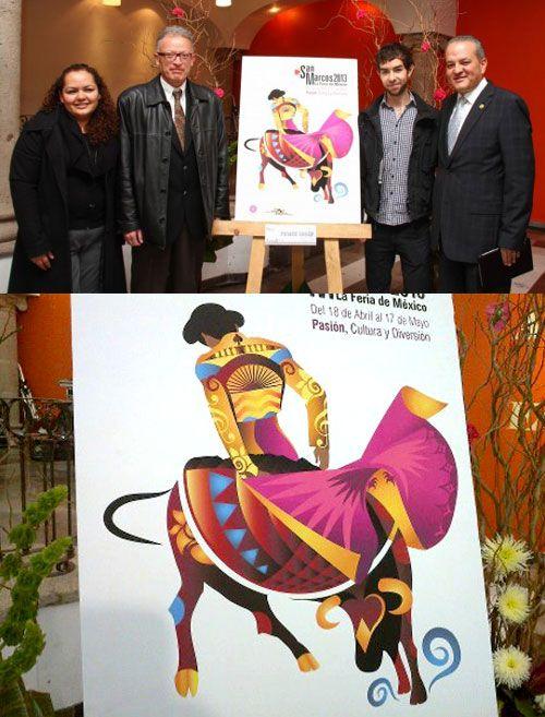 Commemorative poster: Feria de San Marcos  2013.-- Redone poster due to plagiarism