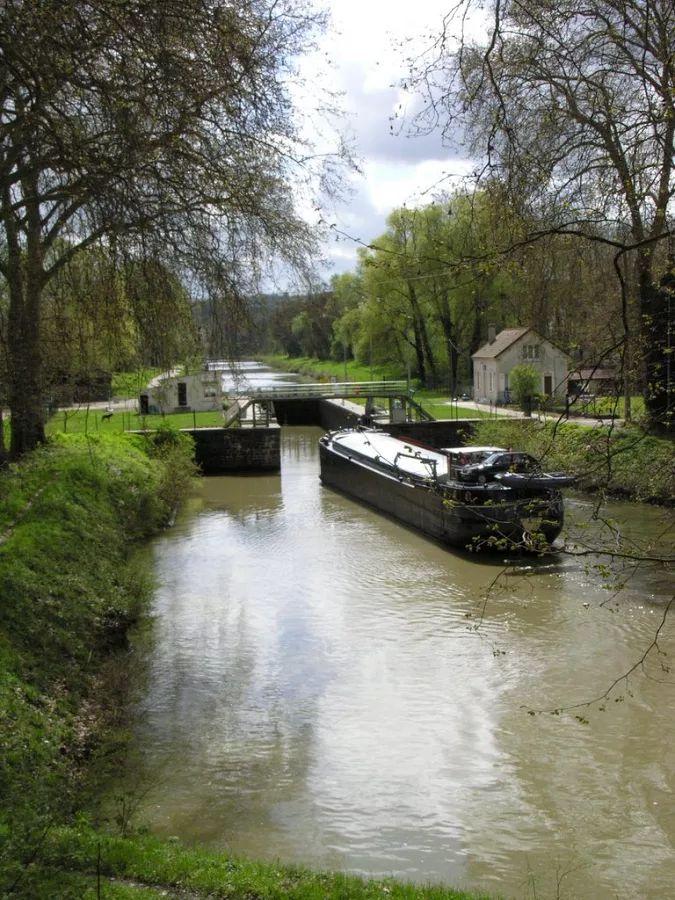 Photo: La canal de Chalifert : L'écluse de Coupvray