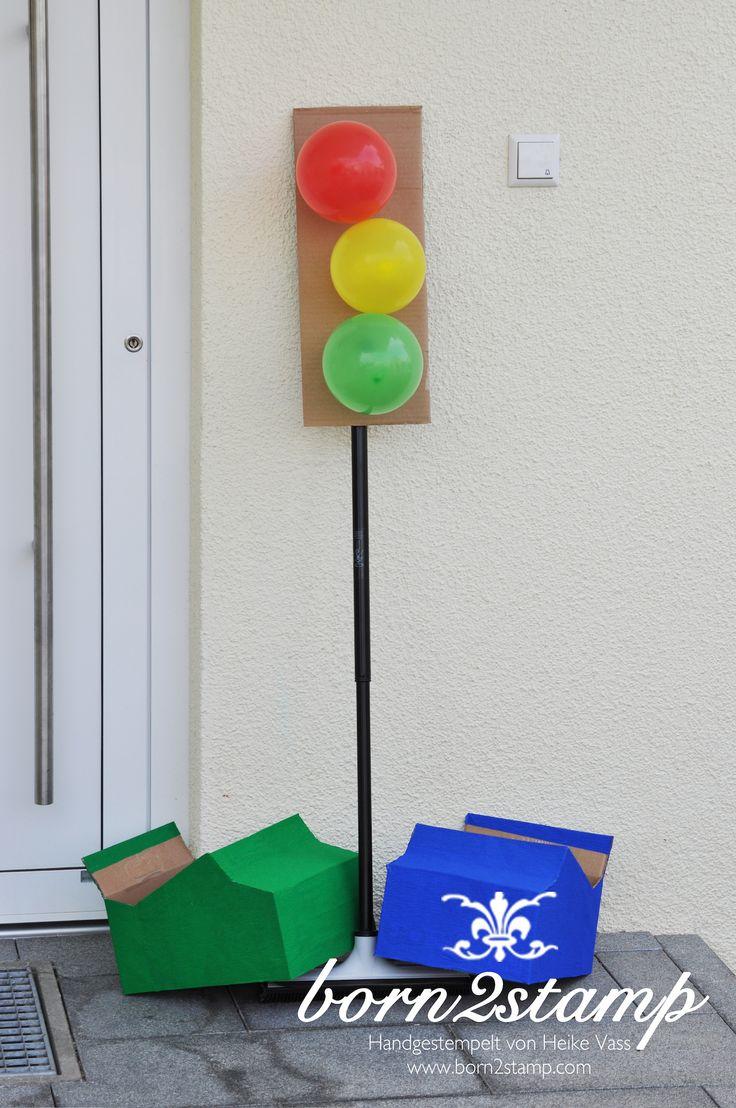 Auto Party Geburtstag Birthday Car theme Deko Eingangstür door decoration